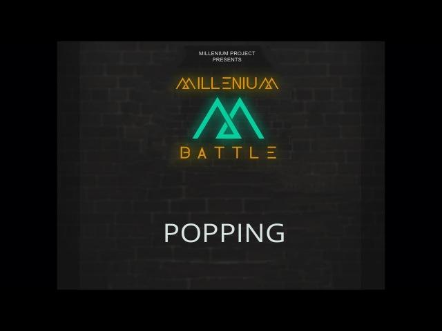 Battle M ¦ POPPING. FINAL ¦ Борис Шерайзин (win) vs Space boogie