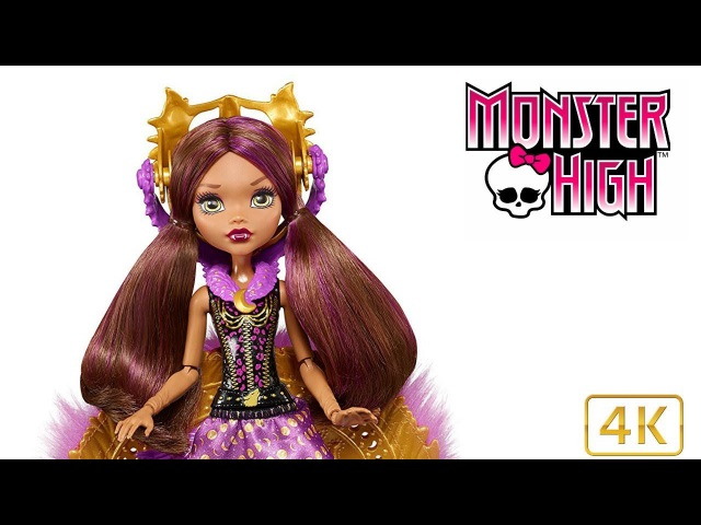Monster High Ghouls To Wolf Clawdeen Doll Review - New MH 2017 Dolls 4k