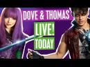 DESCENDANTS 2 LIVE FRIDAY @ 5PM ft. DOVE CAMERON, THOMAS DOHERTY, SAFFRON BARKER FLORAL PRINCESS