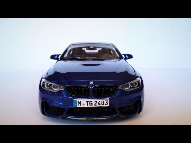 Model Car Custom Diecast 1/18 Bmw M4 CS version (indoor session)