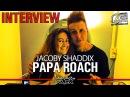 PAPA ROACH - Jacoby Shaddix videointerview @Linea Rock 2017 by Barbara Caserta