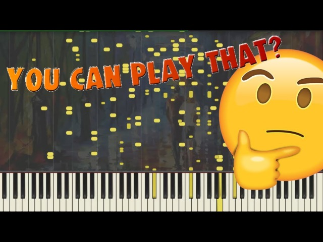 Toccata Fantasy (Difficult Piano) Synthesia Midi