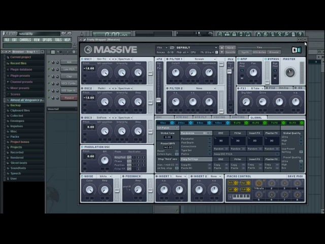 JPhelpz's FL Studio Tutorial (DUBSTEP) - Part 2: MASSIVE BASICS