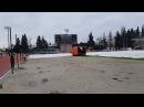 Старт захода на 5 км Командное первенство России по спортивной ходьбе. Девушки. 5 км