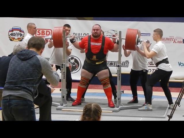 Solodov Anton squat 440kg@120kg. NO LIFT