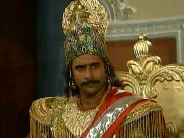 Махабхарата I Mahabharat - 63 Серия из 94 (1988-1990)