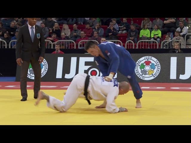 73kg Ondar, Sayan-Williams, David, Dusseldorf 2018
