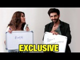 Kartik Aaryan &amp Kriti Kharbanda Play NEVER HAVE I EVER At Guest Iin London Interview