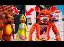 ИСПЫТАНИЯ ФОКСИ ПУГАЛКИ - АНИМАТРОНИКИ Мультик игра ФНАФ 5 НОЧЕЙ GTA 5 Mods FNAF For Kids