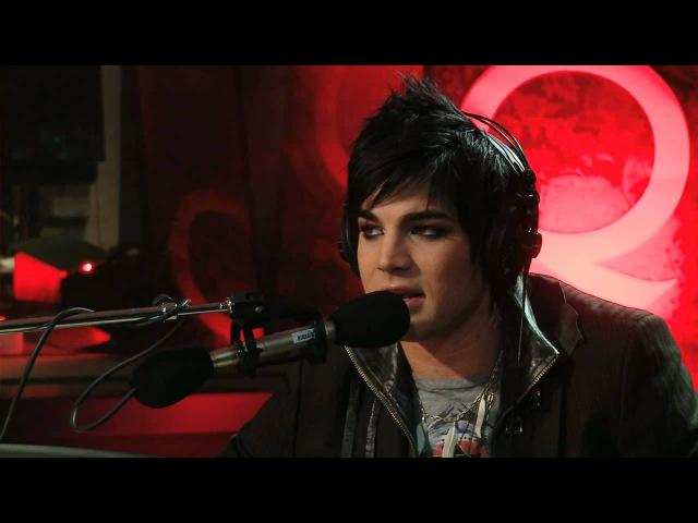Adam Lambert on Q TV