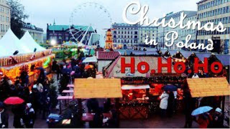 Рождество в Польше.🎅🎄 Сказка в Познани