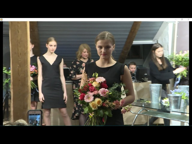 Модный показ весенних букетов в Доме с Лилиями