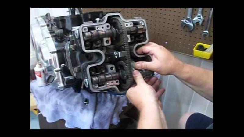 V45 Magna head - tensioner - cam install