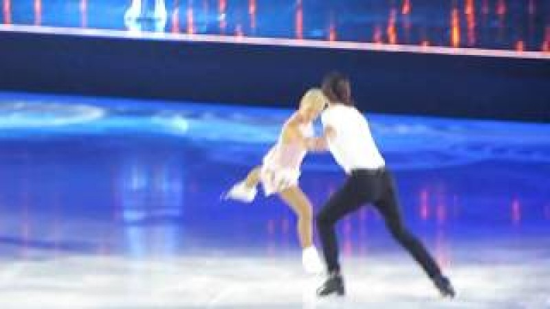 Art on Ice 2018 - Tatiana Volosozhar Maxim Trankov with Laura Bretan 'The Prayer'