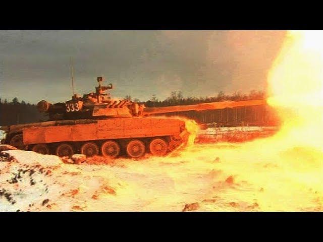 Стрельба кантемировцев: кадры подготовки гвардейцев к «Танковому биатлону»