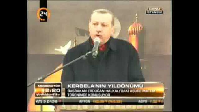Başbakan Erdoğan, Halkalıdaki Aşura Meydanındaki Konuşması