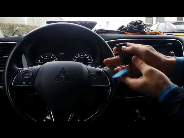 Автозапуск на Mitsubishi