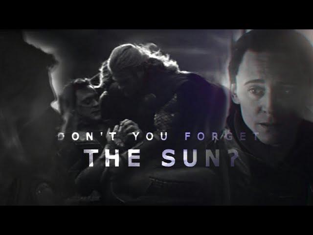 !YAN mep! • ❤ T H O R L O K I thorki ❤ • Dont You Forget The Sun