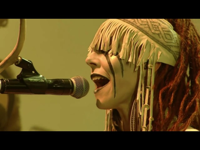 Maria Franz of Heilung LIFA Vocals