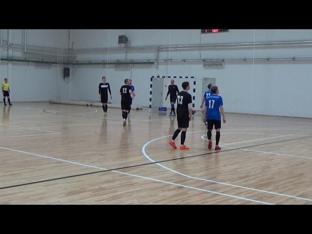Радий - ПРЗ (Балахна). 1 тайм 1:0 (2018-02-24)