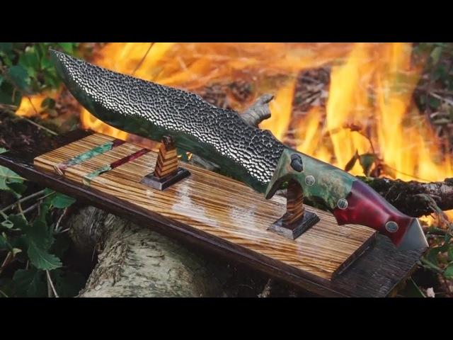 Изготовление ножа без ковки из стального листа