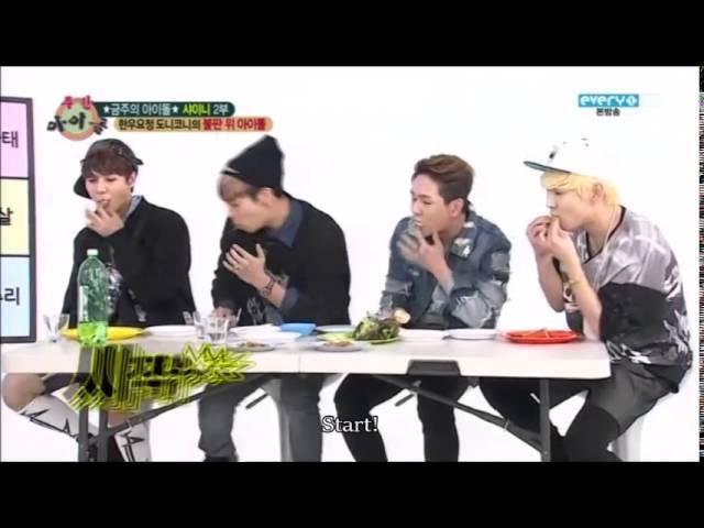 [eng sub] shinee - lemon eating contest cut