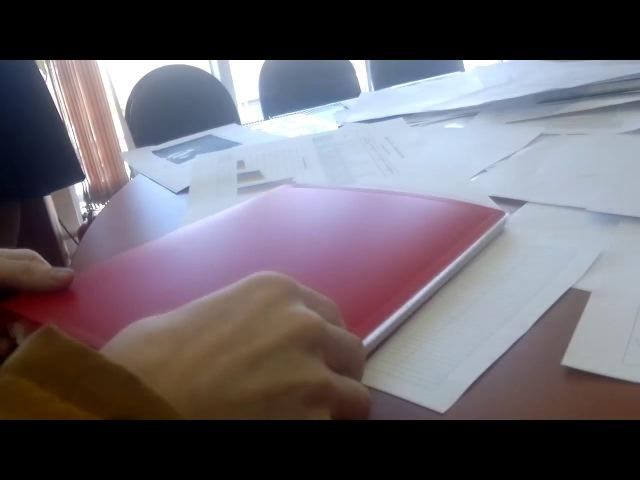 Граждане СССР пишут заявление о невозможности участия в выборах в ТИК №4