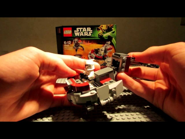 Lego Star Wars 75000 Clone Troopers vs. Droidekas Review