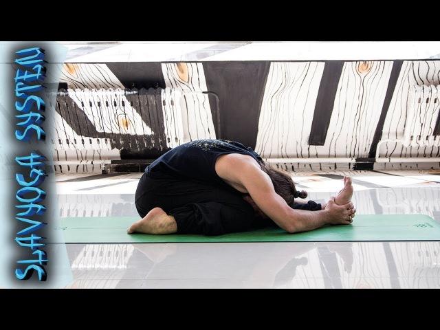 Трианг мукхаикапада пашчимоттанасана 💎 Йога для начинающих ⚡ Асаны йоги ⭐ SLAVYOGA