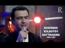Nodirbek Xolboyev Qaytmading jonli ijro Нодирбой Холбоев Кайтмадинг жонли ижро