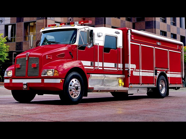 Kenworth T300 Pierce Contender fire engine 1999