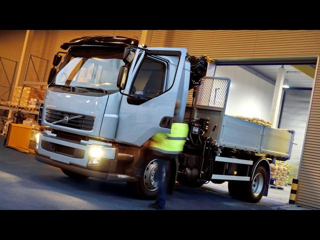 Volvo FL 280 42 rigid Comfort cab with HIAB XS crane 2006 13