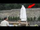 6 ОЖИВШИХ СТАТУЙ СНЯТЫХ НА ВИДЕО Статуи двигаются ШОК