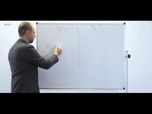 IOHK | Cardano whiteboard; Ouroboros, with Prof. Aggelos Kiayias, Chief Scientist