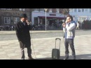 Roxor Loops and Michael Winslow Beatboxing in DENMARK
