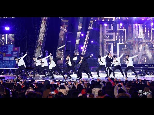 180224 슈퍼주니어(Super Junior) Fullcam Nocut [케이팝 월드 페스타] 직캠(fancam) by 포에버