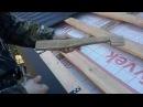 Шаблон для монтажа обрешетки под металлочерепицу