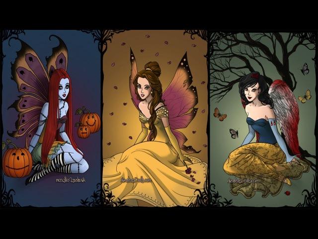 Принцессы Диснея и героини - крылатые существа.