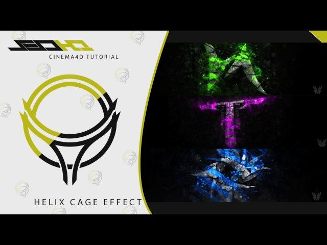 Unknown Tutorials Ep.6 | Cinema4D | Helix Cage Effect