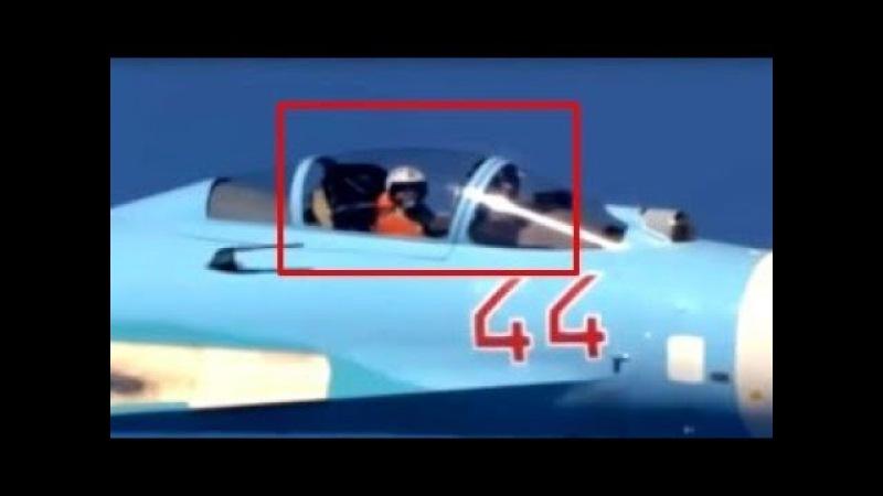 Подлетел на 1.5 метра! Американцы в ШОКЕ от НАГЛОСТИ русских лётчиков. Новый СКАНДАЛ!