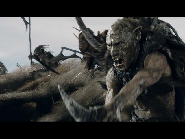 Всадники Рохана против волчьих всадников | Властелин колец Две крепости