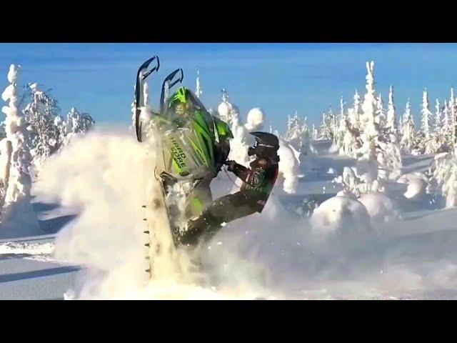 Test of snowmobile Arctic Cat Hard Evo 2018