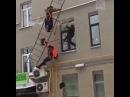👊 ЗАКОН КАВКАЗА 📢 on Instagram В последний путь видео о том как дворники решили почистить крышу и добраться до нее по газовым трубам и пожарн
