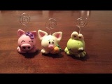 DIY Portanotas de Animales Animals Card Holders (Porcelana fria Cold Porcelain)