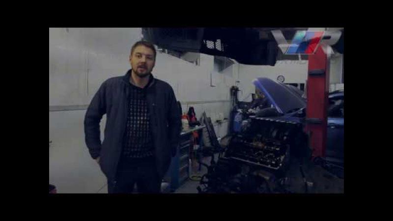 Проблемы с N62?! BMW X5 4.8 замена маслосъемных колпачков