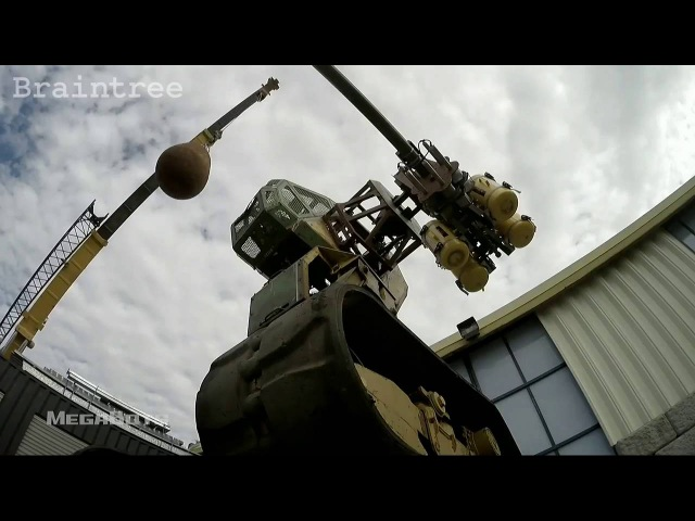 Megabots web series trailer at Disrupt SF