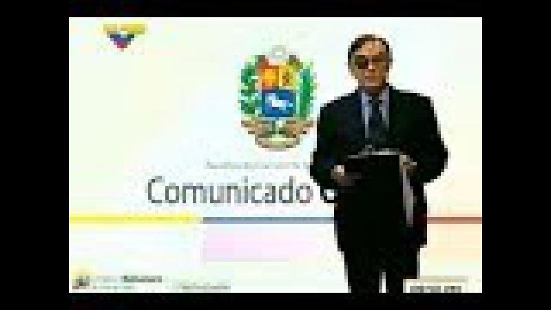Dossier con Walter Martínez 131117 Comunicado a la Unión Europea del Gobierno venezolano