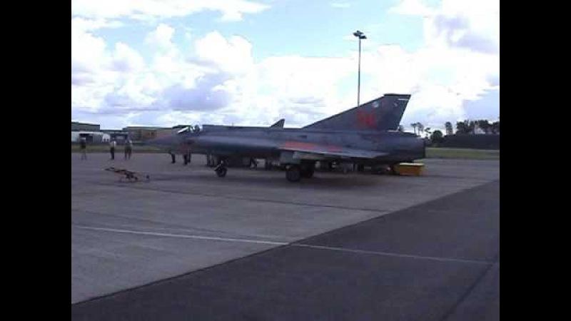 The Last Swedish Saab J35J Draken - October 2002