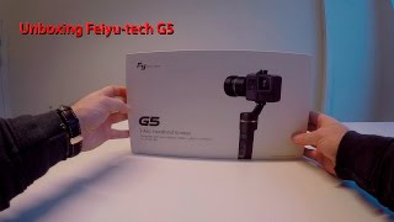 Unboxing the new Feiyu-tech G5
