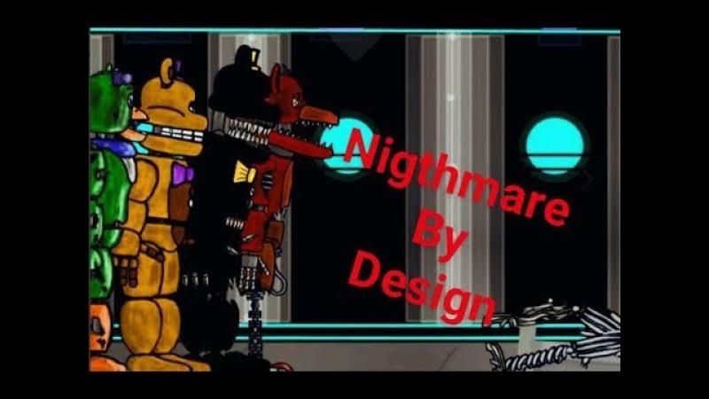 Рисуем мультфильмы | фнаф клип | Nightmare by Design